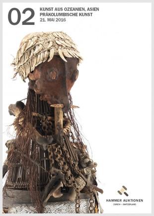 Kunst aus Ozeanien, Asien und Präkolumbische Kunst. Hammer Auktion 2, 21. Mai 2016