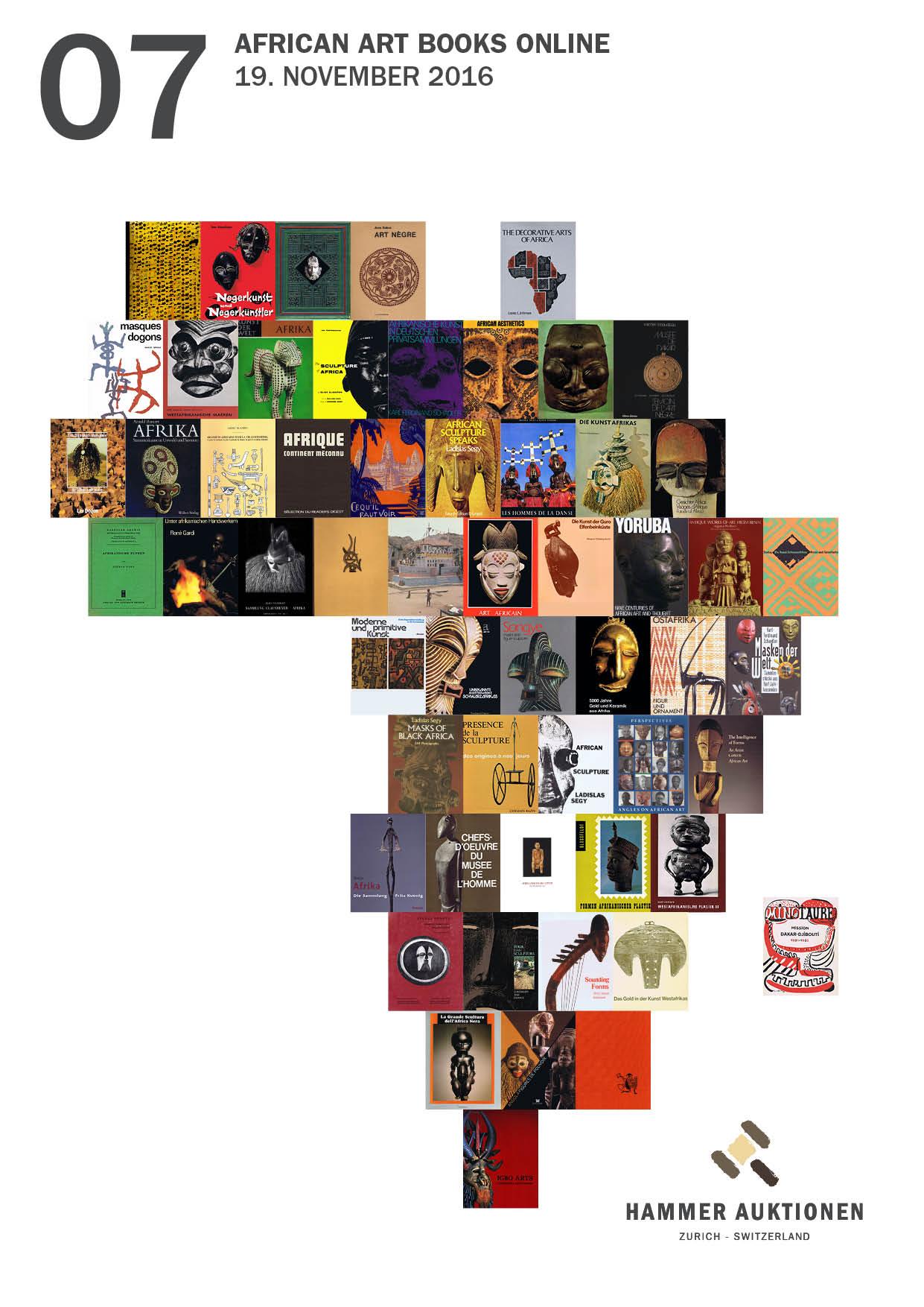 african art books online hammer auktionen z rich switzerland. Black Bedroom Furniture Sets. Home Design Ideas