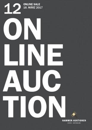 Hammer, Hammer Auktionen, Auktionen, HA 12, online auction