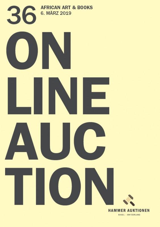 Hammer Auktion 36 / African Art & Books