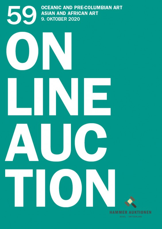 Hammer Auktion 59 / Oceanic and Pre-Columbian Art <br> Asian and African Art